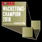 IMP Auszeichnung von Focus: Wachstumschampion 2017