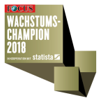 IMP Auszeichnung von Focus: Wachstumschampion 2018
